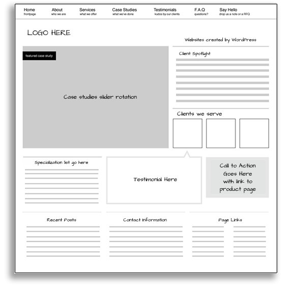 Low-Fi Wireframe Example