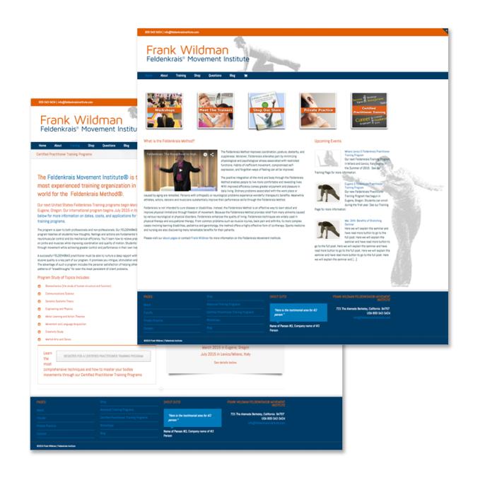 Feldenkrais Website